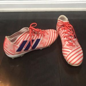 Nemesis soccer cleats worn once